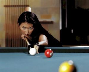Focused Jeanette Lee