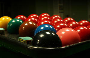Set of Snooker Balls