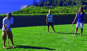 Baden Croquet at play