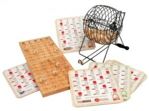 Metal Bingo Set