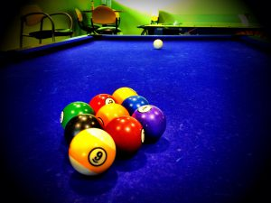 9-ball rack formation