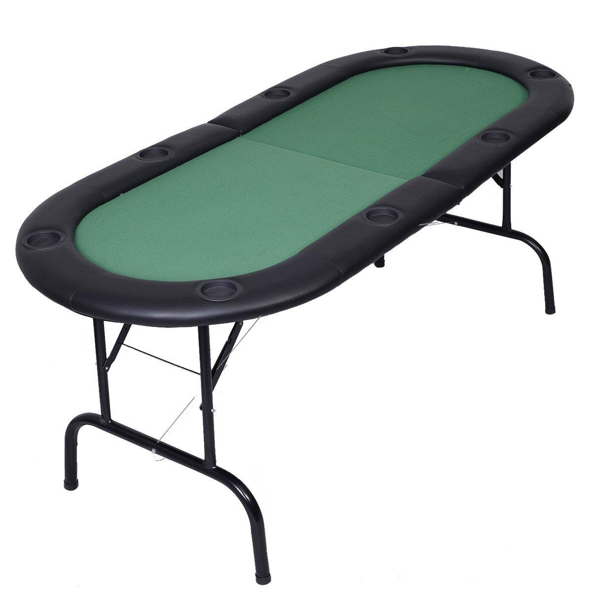 Amazon Oval Poker Table