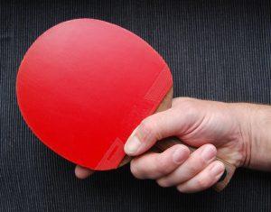 Ping Pong Handshake Grip