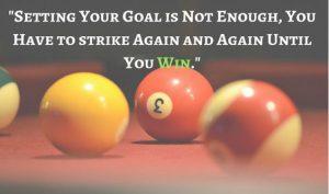 Motivational Billiards