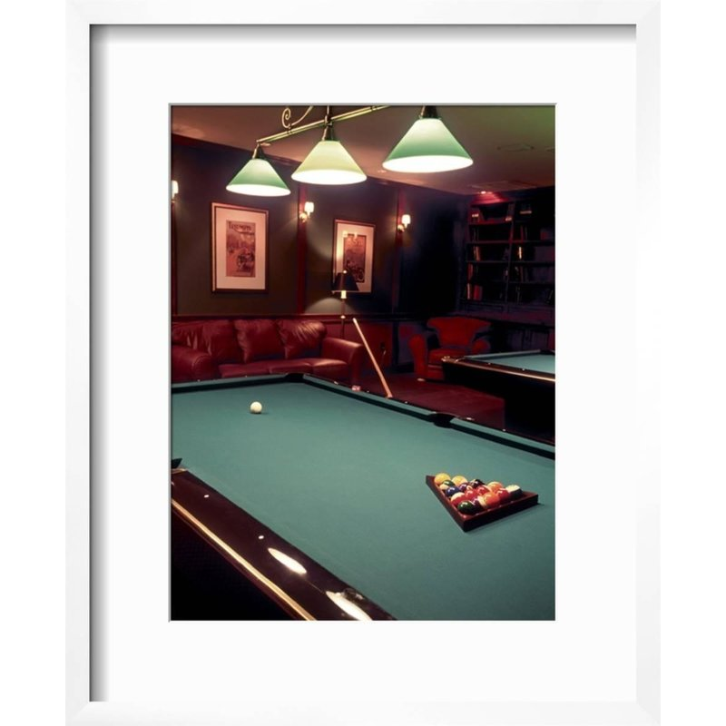 Billiards Wall Decor