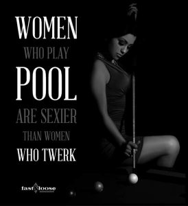 Women Who Play Pool
