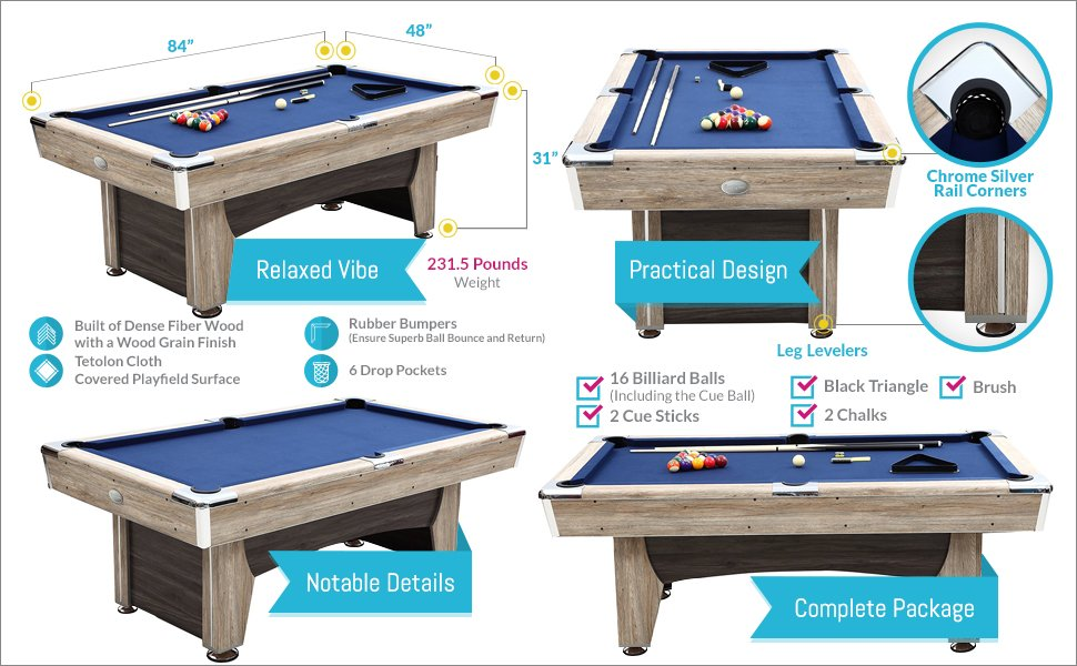Pool Table With Accessories 2