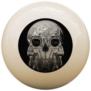 Skull Cue Ball
