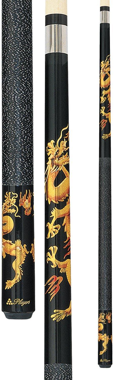 Golden Cue Sticks