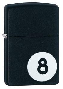 Zippo Eight Ball Lighter