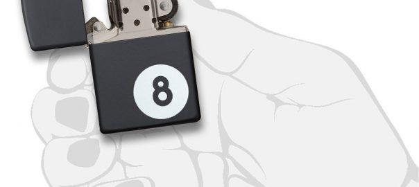 Zippo Eight Ball Lighter (3)