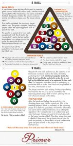 The Rules of How to Play 8- and 9-Ball