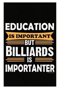 Sarcasm Billiards Poster