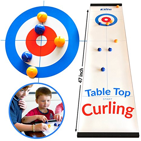 Table Top Curling Set