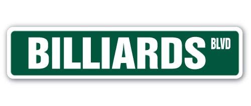 Billiards Street Sign